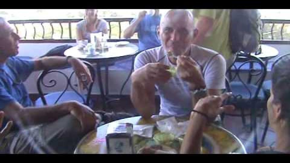 אופטימיסט בסיציליה חותרים לסטרומבולי – סתיו 2011