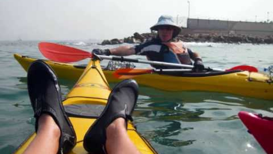 טיול חתירה ראש הנקרה – שדות ים
